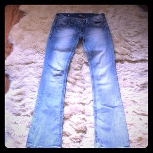 Lot of 4 pairs of Express Jeans size 2
